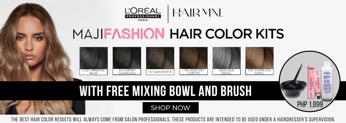 HairMNL L'Oreal Professionnel MajiColor Kits with Free Mixing Bowl and Brush