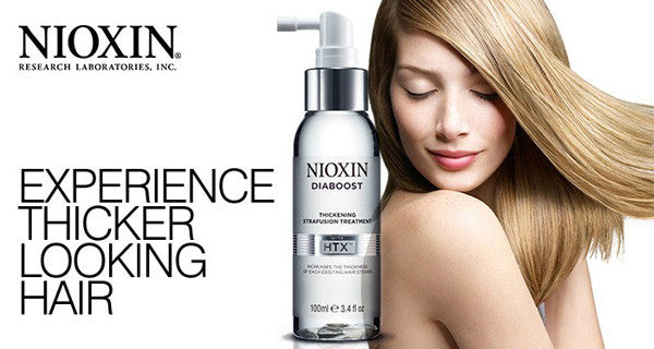 NIOXIN Diaboost: Experience Thicker Looking Hair