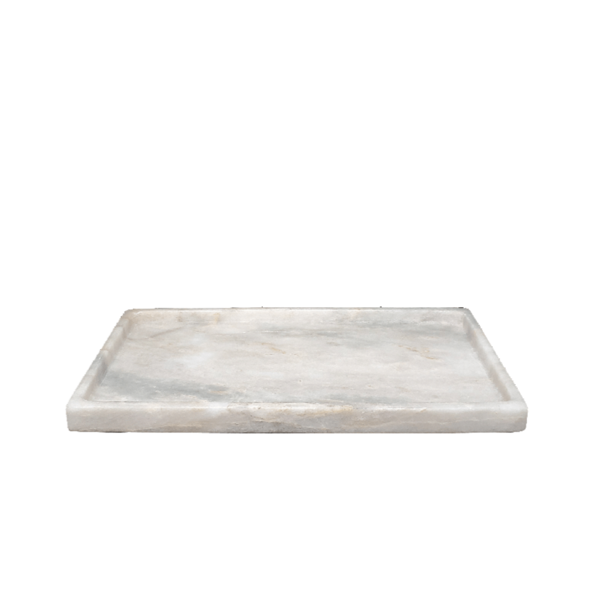 Rectangle Marble Bath Tray