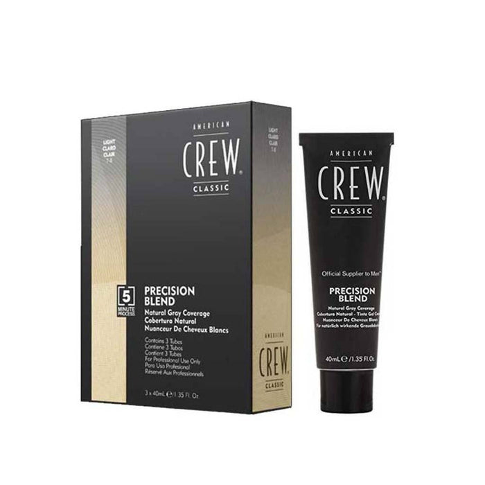 American Crew Precision Blend Hair Dye 3 x 40mL - Light