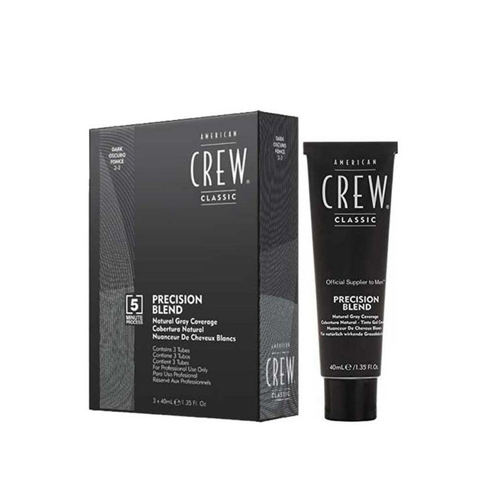 American Crew Precision Blend Hair Dye 3 x 40mL - Dark