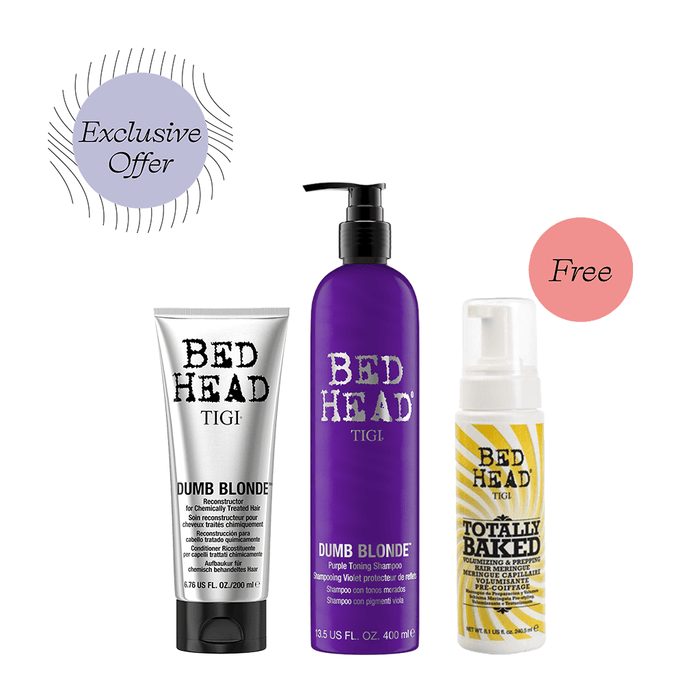 Bed Head Tone, Repair, and Style Bundle