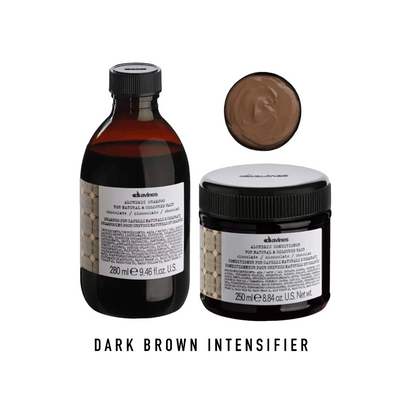 Davines Alchemic Chocolate Shampoo & Conditioner