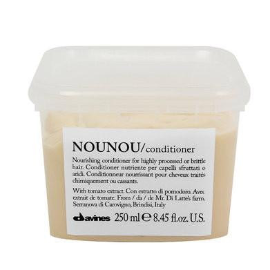 Davines Essentials NOUNOU Conditioner: Nourishing Conditioner for Highly Processed or Brittle Hair