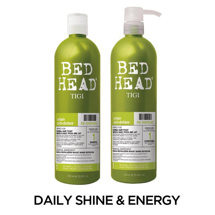 Bed Head by TIGI: Re-Energize Shampoo and Conditioner Set