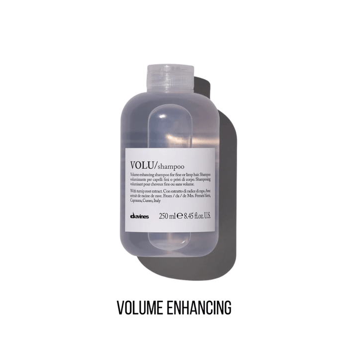 Davines VOLU Shampoo: Volume Enhancing Shampoo for Fine or Limp Hair