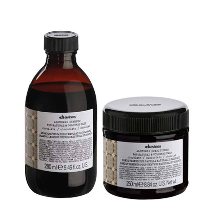 Buy Davines Alchemic Chocolate Shampoo & Conditioner on HairMNL