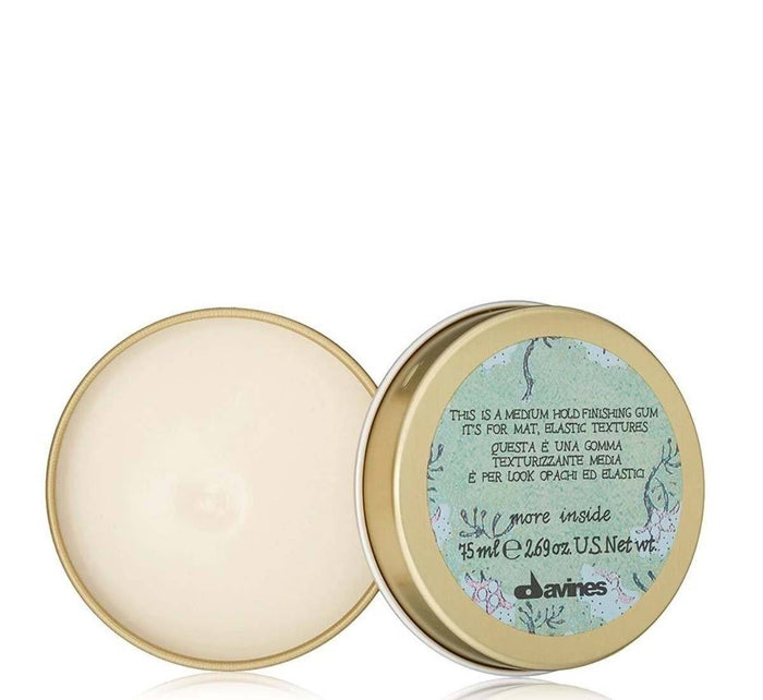 Davines This is a Medium Hold Finishing Gum: For Matte, Elastic Textures