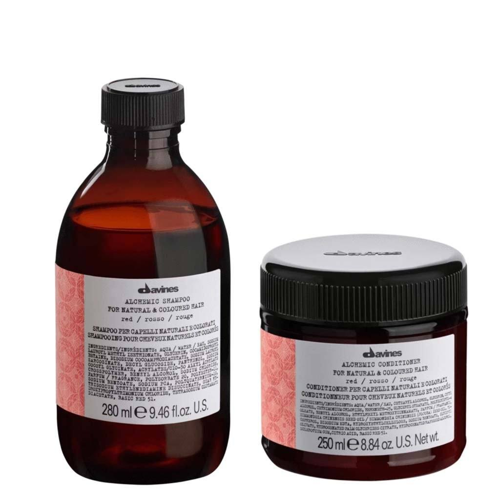 Buy Davines Alchemic Red Shampoo & Conditioner on HairMNL