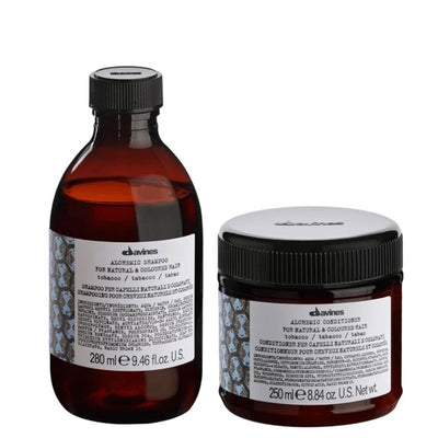 Buy Davines Alchemic Tobacco Shampoo & Conditioner on HairMNL
