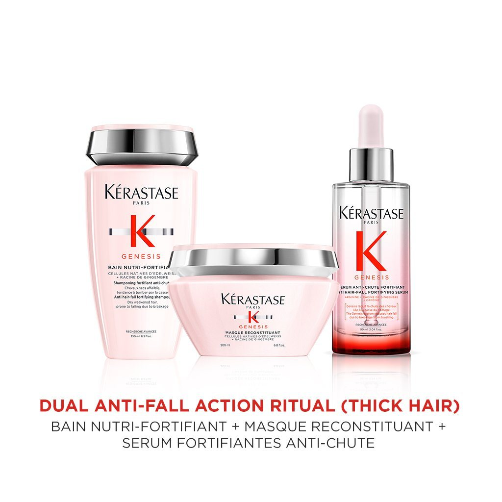 Buy Kérastase Genesis Dual Anti-Fall Action Ritual for Thick Hair on HairMNL