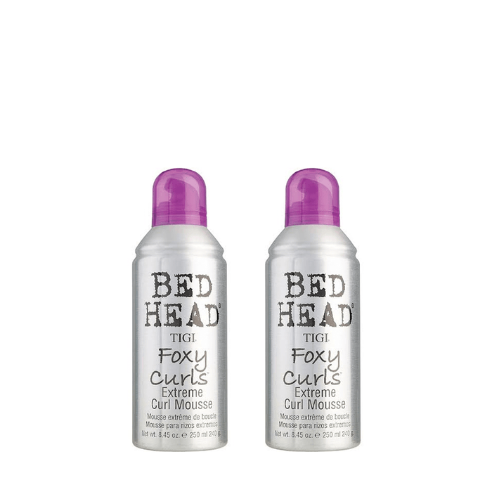 Bed Head by TIGI Foxy Curls Extreme Curl Mousse Duo