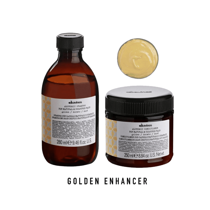 Davines Alchemic Golden Shampoo & Conditioner