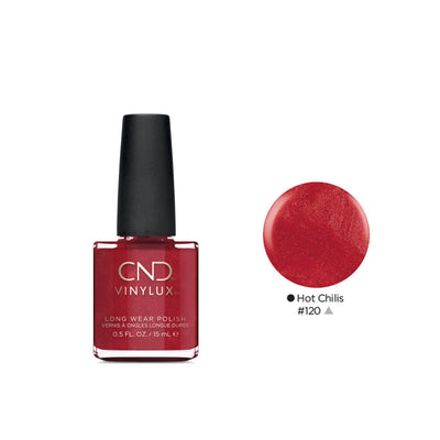 Buy CND Vinylux Nail Polish in Hot Chilis on HairMNL