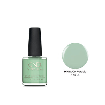 Buy CND Vinylux Nail Polish in Mint Convertible on HairMNL
