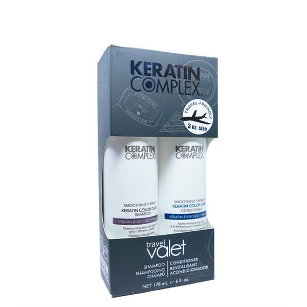 Keratin Complex Keratin Color Care Travel Valet Kit - Shampoo & Conditioner - HairMNL