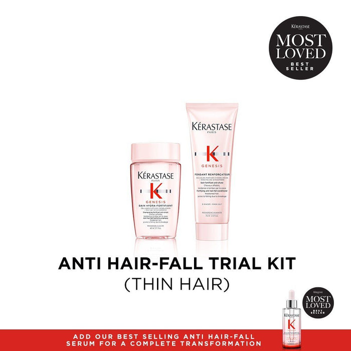 HairMNL Kérastase Genesis Anti Hair-Fall Hair Deluxe Discovery Trial Kit (Thin Hair)