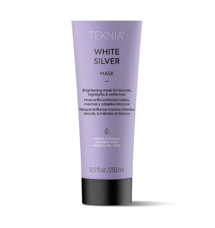 Lakme Teknia White Silver Mask 250mL - Purple Toning Treatment
