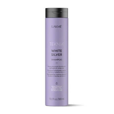 Buy Lakme Teknia White Silver Shampoo 300ml - Purple Toning Shampoo on HairMNL