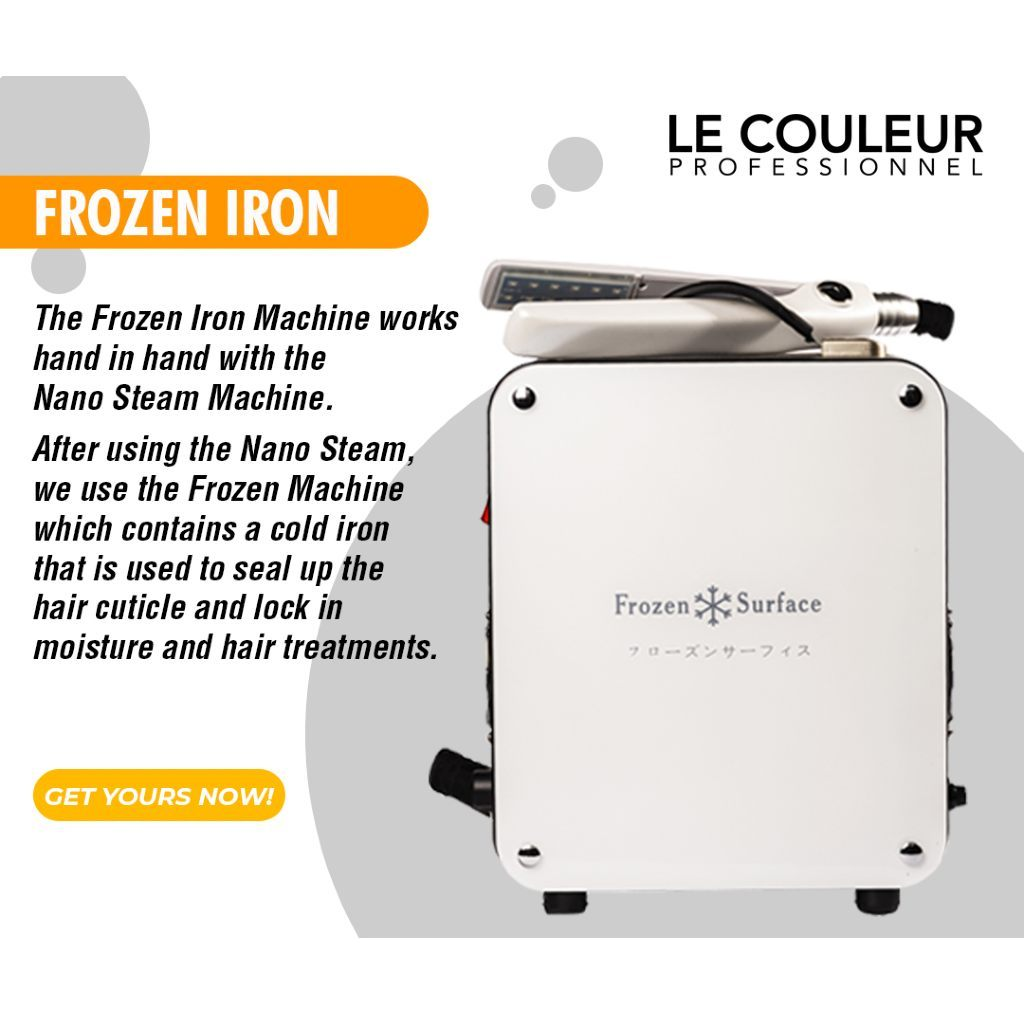 HairMNL Le Couleur Frozen Iron Machine