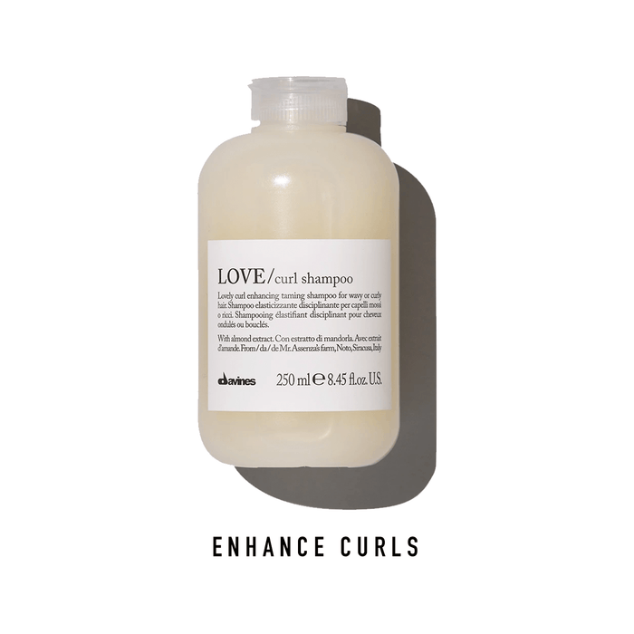 Davines LOVE Curl Enhancing Shampoo: Lovely Curl Enhancing Shampoo for Wavy or Curly Hair