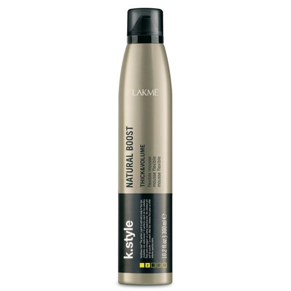 Lakme K.Style Natural Boost Flexible Mousse 300mL - HairMNL