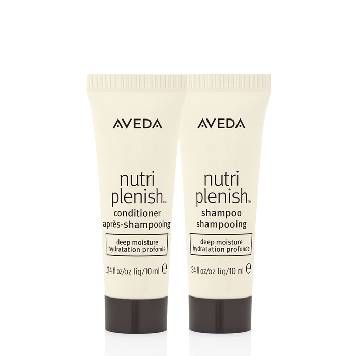 HairMNL AVEDA Travel-Sized Nutriplenish Shampoo & Conditioner – Deep 10ml