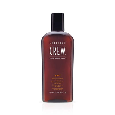 Buy American Crew 3 in 1 Shampoo Conditioner and Body Wash 250ml on HairMNL