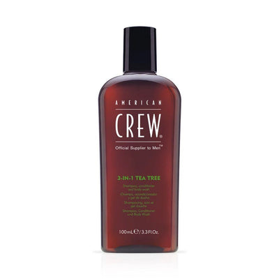 Buy American Crew 3 in 1 Tea Tree Shampoo Conditioner and Body Wash 250ml on HairMNL