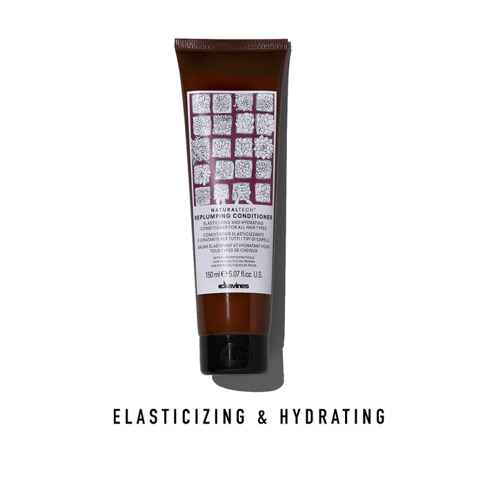Davines Replumping Conditioner: Elasticizing and Hydrating for All Hair Types