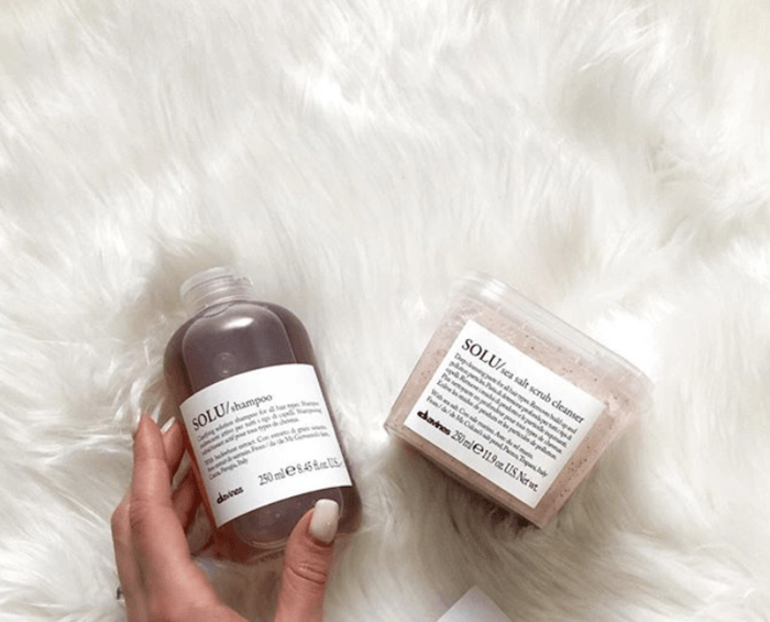 Davines SOLU Refreshing and Cleansing Set