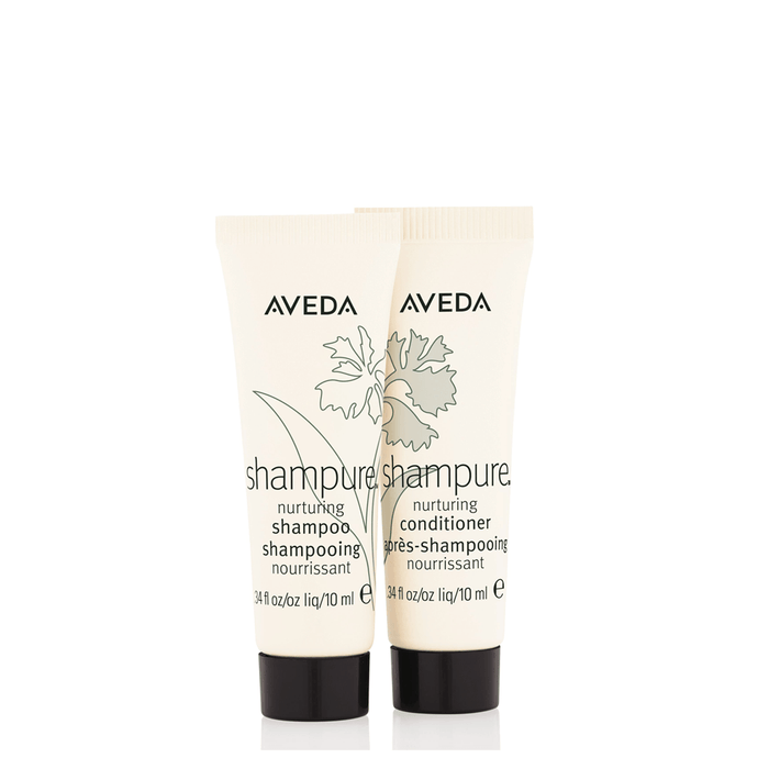 HairMNL AVEDA Travel-Sized Shampure Shampoo & Conditioner 10ml