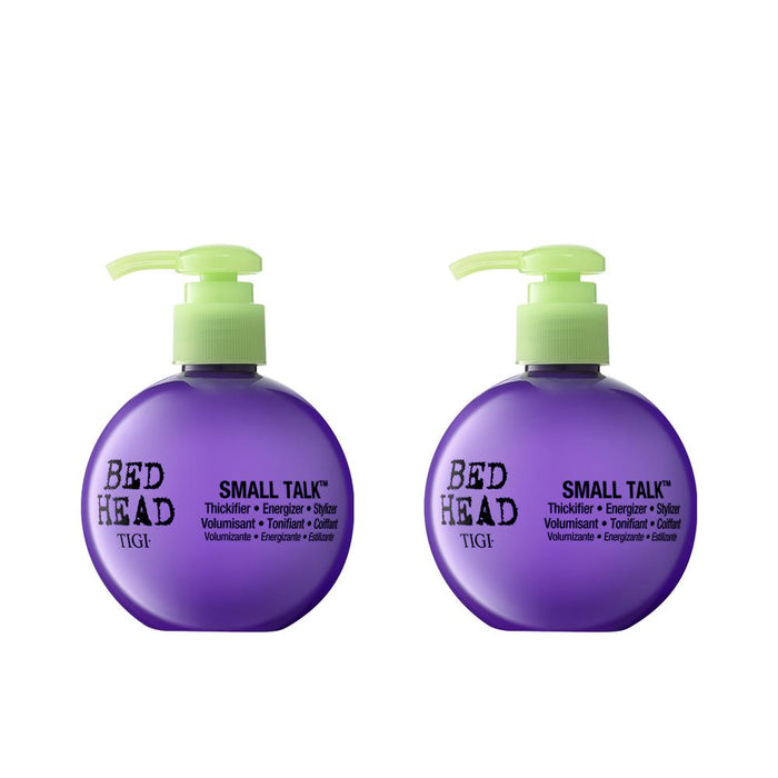 Bed Head by TIGI Small Talk: 3-in-1 Thickifier, Energizer, Stylizer Duo