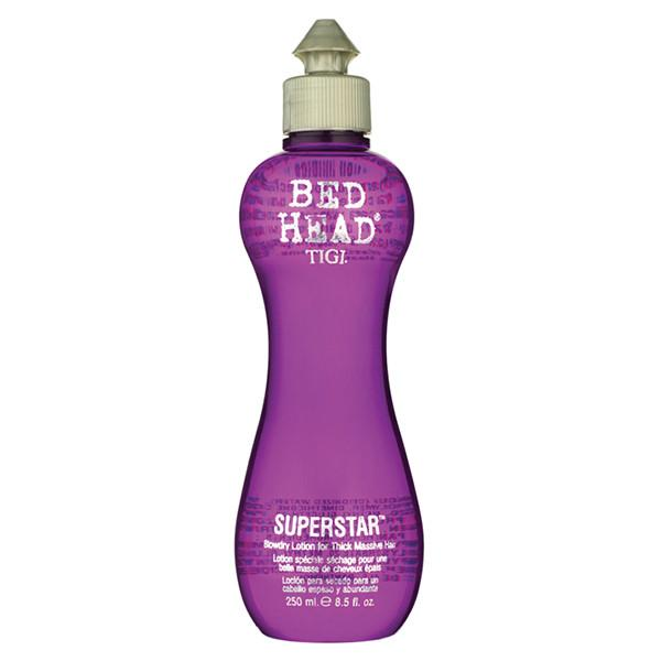 Bed Head by TIGI Superstar Blowdry Lotion: Thermal Blowdry Lotion for Thick Massive Hair