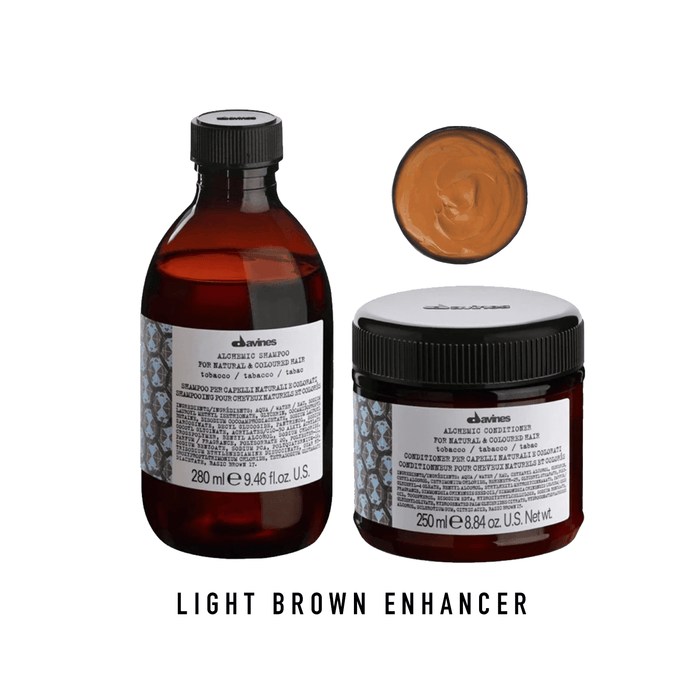 Davines Alchemic Tobacco Shampoo & Conditioner