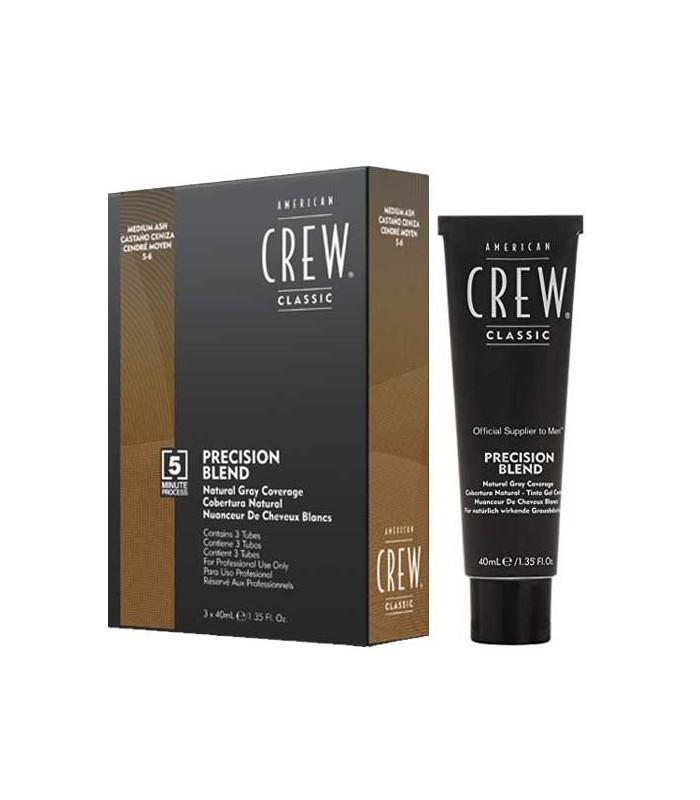 Buy American Crew Precision Blend Hair Dye 3 x 40mL - Medium Ash on HairMNL