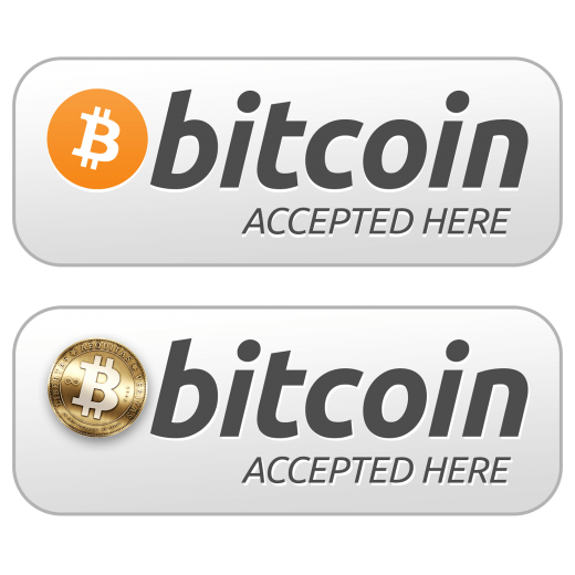Image result for we accept bitcoin png