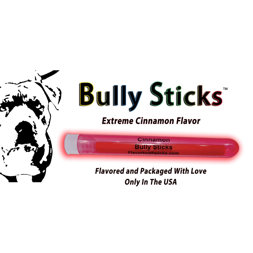 "Bully Stick 4"" All Natural Wood Flavored Chewing Sticks"