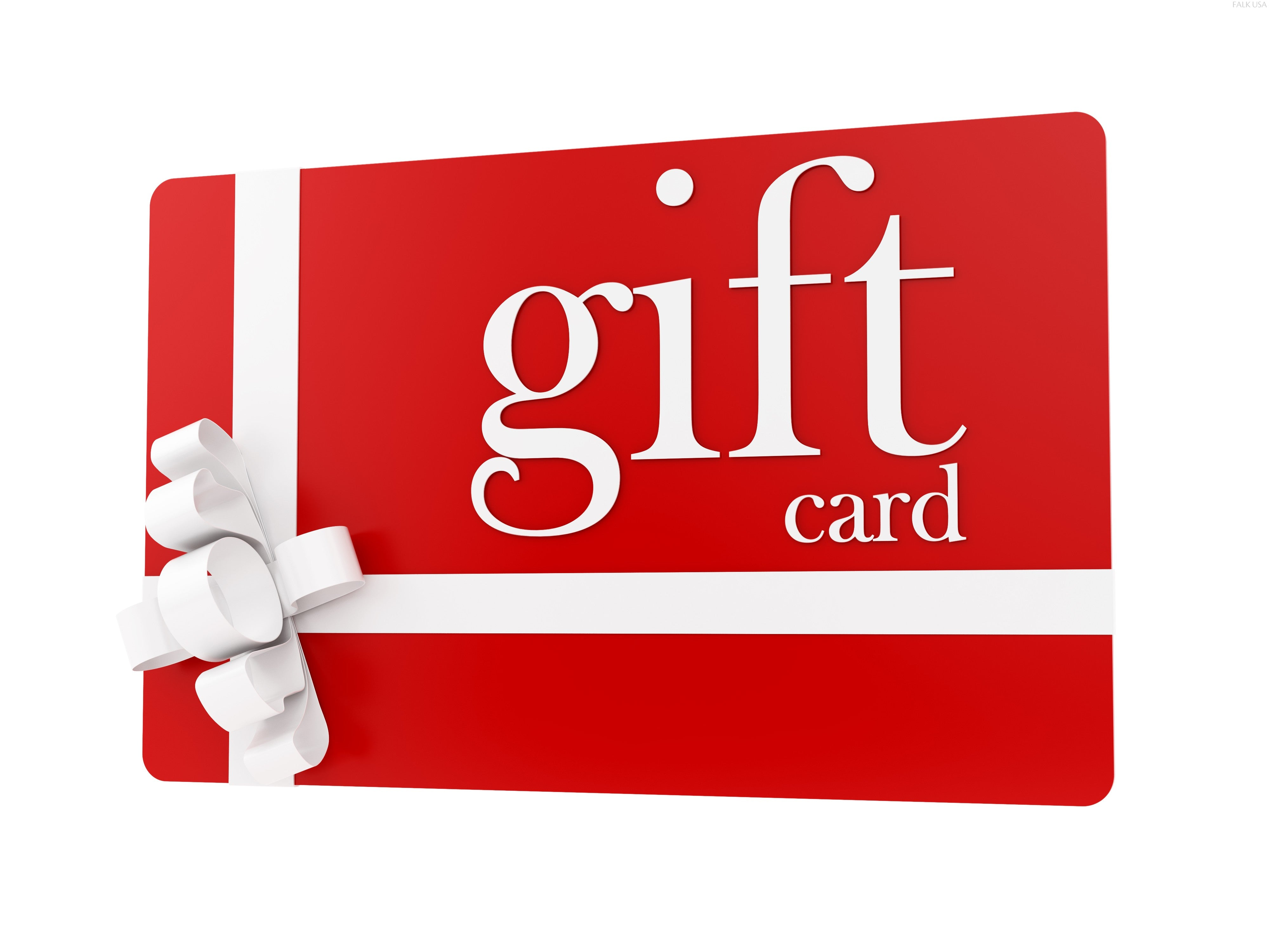 We Now Sell Gift Cards