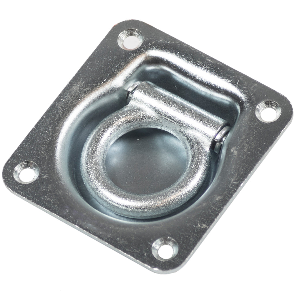 Lashing Rings Recessed Zinc Plated SWL500KG - Motor Gearbox Products