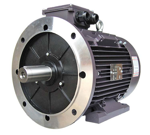 Three Phase Electric Motor 18.5kW 4P (1470rpm) 415v B35 Foot/Flange Mounted TCI180M-4 IP55 Cast Iron - Motor Gearbox Products