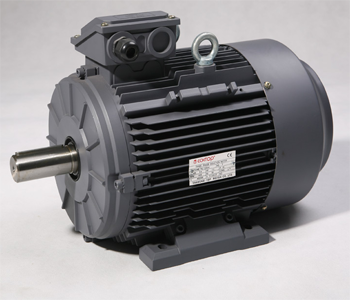 Three Phase Electric Motor 0.55kW 4P (1410rpm) 415v B3 Foot Mounted TAI80A-4 IP55 Aluminium - Motor Gearbox Products