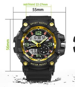 2017 Military Sport Watch Men Top Brand Luxury Famous Electronic LED Digital Wrist Male Clock For Man Relogio Masculino