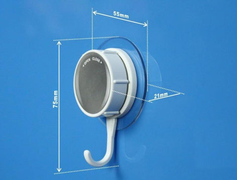 Suction Hook No Trace Super Load for Kitchen Bathroom Robe Towel