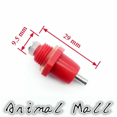 10 Pcs High Quality Spring Type Chicken Red Nipples Drinking With Automatic Water Dispenser Mouth