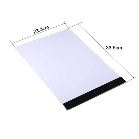 Durable Ultrathin A4 LED Light Stencil Touch Pad Copy Painting Drawing Board Tablet Tracing US/EU/UK Plug