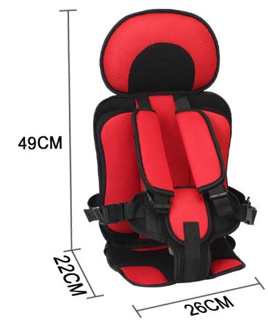 Kid S Adjustable Car Seat 6 Months 5 Years Travel Portable Automobile Chair