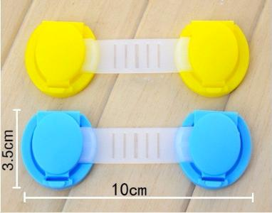 10Pcs/Lot Child Lock Protection Of Children Locking Doors For Children's Safety Kids Plastic Best Selling