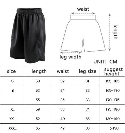 Cheap Stars Black Basketball Shorts Quick Dry Breathable Training Basket-ball Jersey Sport Running Men Sportswear