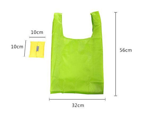 Shopping Shoulder Bag Portable Folding Large Nylon Thick Waterproof Ripstop